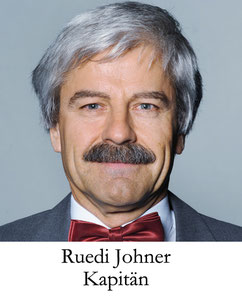 Ruedi Johner, Kapitän