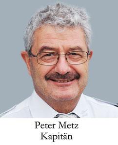 Peter Merz, Kapitän