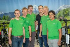 Das Team der e-motion e-Bike Welt Aarau-Ost