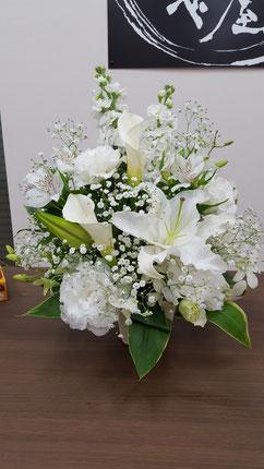 お供え花 アレンジメント 枕花