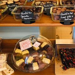 chocolatière, oursons