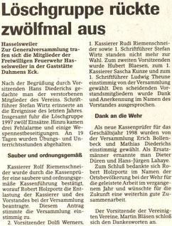 Jülicher Nachrichten vom 29.01.1998
