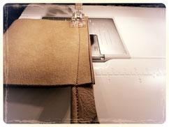 Paspel aus Leder selbermachen