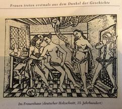 Badestuben im Mittelalter