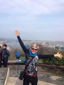 Peter en Budapest