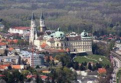Wiener Wald mit Klosterneuburg