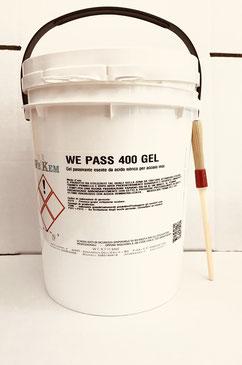 passivante in gel secchio da 5KG acciaio inox