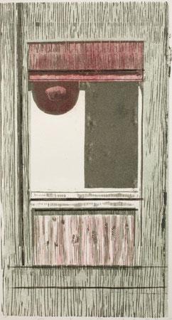 KLINIKFENSTER  2003  38 x 20,5 cm