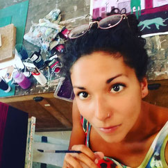 Morgane Barbotin - Illustratrice, peintre, infographiste