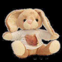 """Bunny"".  Hauteur : 19 cm."