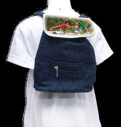 Mini sac à dos. 23x17x7,5 cm.