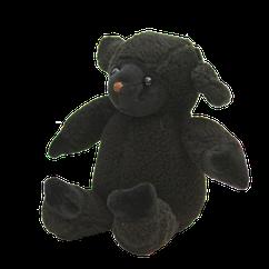 Mouton noir. Hauteur : 20 cm.