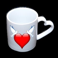"Mug ""Coeur"""