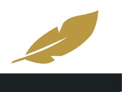 CharakterSchmiede Logo, nur Feder, Anforderung gemäßigt im Outdoor Teambuilding für Firmen