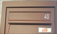 ektools gravering brievenbus klep