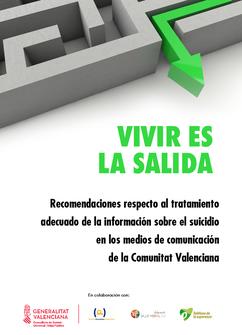 Recomendaciones en información sobre el suicidio en los MMCC. G. Valenciana.