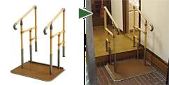 手すり(玄関)-福祉用品のレンタル