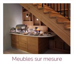 Meubles sur mesure Eléments décoratifs en menuiserie bois artisanale