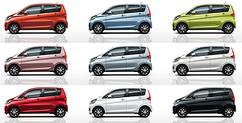 三菱の新型軽自動車 ekワゴンフルモデルチェンジ