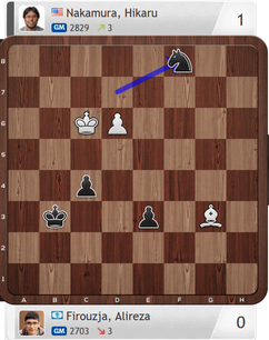 Firouzja-Nakamura, Partie 3, Magnus Carlsen Invitational