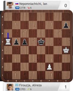 Firouzja-Nepomniachtchi, Partie 4, Magnus Carlsen Invitational