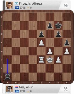 Giri-Firouzja, Partie 4, Magnus Carlsen Invitational