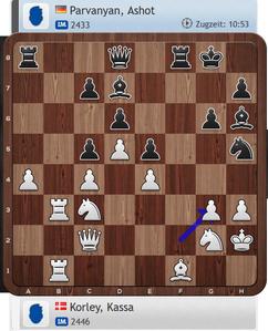 Lüneburger Schachfestival 2019, Korley-Parvanyan