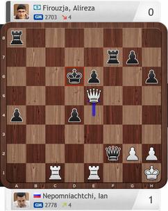 Nepomniachtchi-Firouzja, Partie 3, Magnus Carlsen Invitational