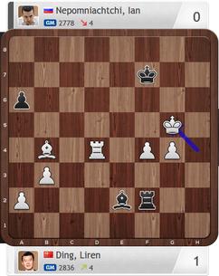 Ding-Nepomniachtchi, Partie 4, Magnus Carlsen Invitational