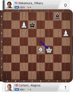 Carlsen-Nakamura, Partie 1