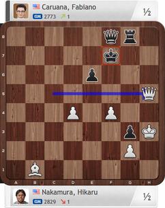 Nakamura-Caruana, Partie 2, Final Four, Magnus Carlsen Invitational