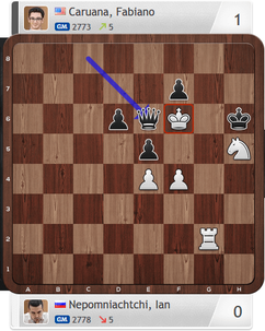 Nepomniachtchi-Caruana, Partie 4, Magnus Carlsen Invitational