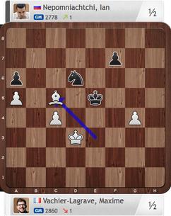 Nepomniachtchi-Vachier-Lagrave, Partie 2, Magnus Carlsen Invitational