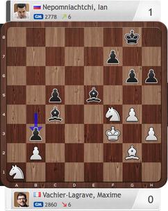 Nepomniachtchi-Vachier-Lagrave, Partie 4, Magnus Carlsen Invitational