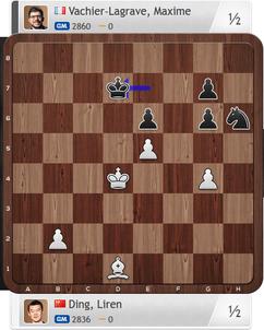 Ding-MVL, Partie 2, Magnus Carlsen Invitational