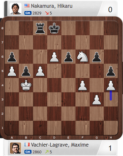MVL-Nakamura, Partie 1, Magnus Carlsen Invitational
