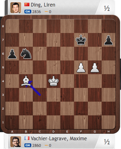 MVL-Ding, Partie 3, Magnus Carlsen Invitational