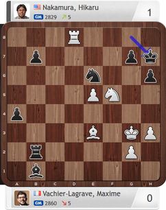 MVL-Nakamura, Armaggedon-Partie, Magnus Carlsen Invitational
