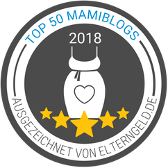 Mama-Blog Patschehand.de von Elterngeld.de ausgezeichnet als Top 50 Mamiblog