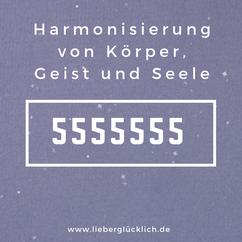 Harmonisierung von Körper, Geist und Seele Heilzahlen Zahlenreihe nach Grigori Grabovoi