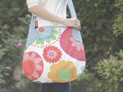 große Sommertaschen von himmelrosa
