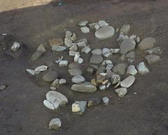 集石, 文化財, トレース, 図化