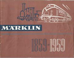 1959 Märklin Katalog DE  - 69 Seiten / 100 Jahre Jubiläums Ausgabe