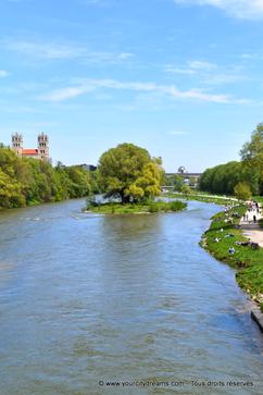 Les promenades au bord du fleuve