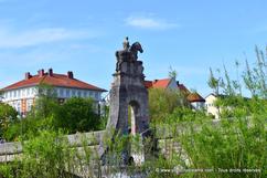 Pont de l'Isar, fleuve Munich