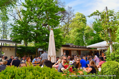 Le Biergarten am Muffatwerk, alternatif et bio à Munich