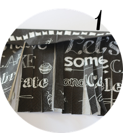 Bild: DIY Tassel Girlande, eine schnelle last-minute Idee für Partydeko aus Servietten und Schritt-für-Schritt Anleitung von www.partystories.de
