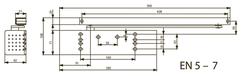 Türschliesser DORMA TS93B EN 5-7, mit Gleitschiene