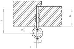 Paumellenband GLUTZ STN12146