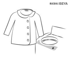 服を広げて洗濯機に入れ、30秒~最大1分だっすいします。